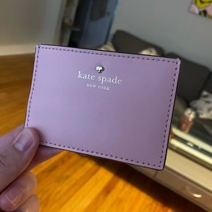 Kate Spade New York Pink credit card holder